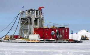 IceCube Bohrstation 2009