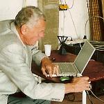 Hartwig Thim bei der Data Ecologies 2005 in Linz