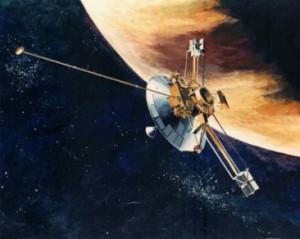 Pioneer 10 am Jupiter
