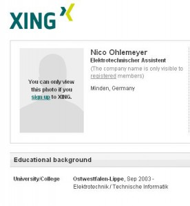 Nico Ohlemeyer - Profil bei Xing