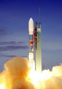 Start der Delta-Rakete mit Gravity Probe B am 20. April 2004