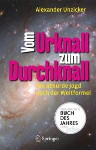 """Alexander Unzicker: """"Wissenschaftsbuch des Jahres 2010"""""""