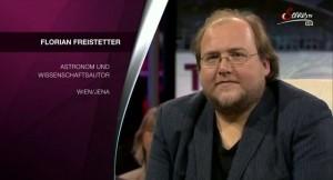 Florian Freistetter im Talk im Hangar-7 bei ServusTV