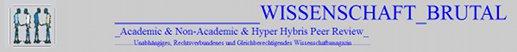Webauftritt Wissenschaft Brutal von Hans Wiedenbusch
