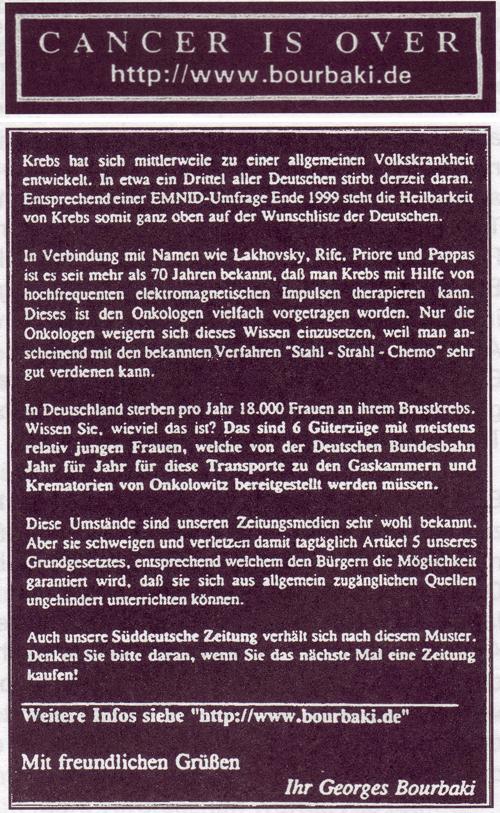 """Abwurfaktionen vom """"Alten Peter"""""""