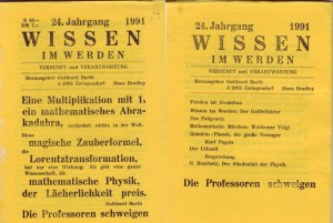 """Barth: """"Der Sündenfall der Physik"""", 1991"""