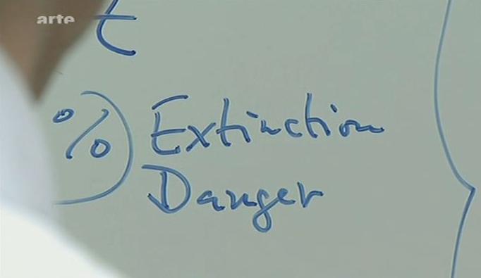 """Rösslers Weltuntergangswahrscheinlichkeit: """"Extinction Danger"""""""