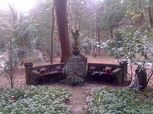Familiengrab der von Breunigs, Waldfriedhof Alter Teil - Credit: Benno von Breunig