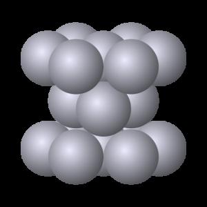 Hexagonale Kristallstruktur