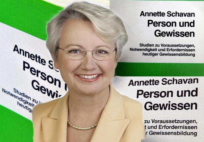 """Annette Schavan (Credit: Laurence Chaperon), """"Person und Gewissen"""""""