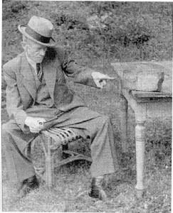 Károly Bálint (Karl Valentin), der Namensvetter von András Bálint, hatte kein Problem mit Einstein.