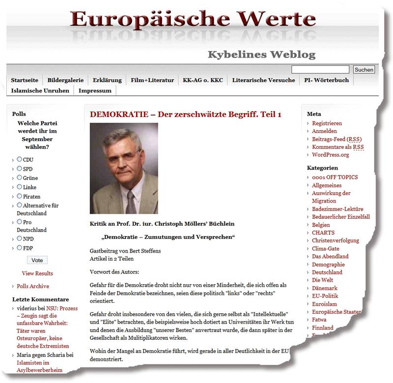 """Bert Steffens, """"Freier Radikaler"""" als Gast beim organisierten Rechtsextremismus"""
