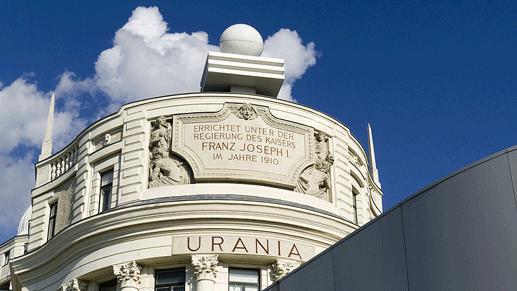 """""""Urania"""" in Wien"""