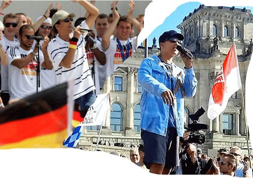 """Deutsche Nationalmannschaft - Nationalistische """"Reichsbürgerbewegung"""""""