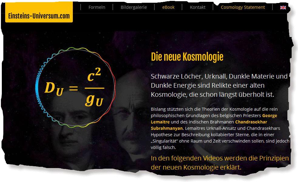 Christoph Poth: Die neue Kosmologie