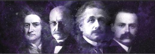 Unfreiwillige Leumundszeugen: Newton, Planck, Einstein, Schwarzschild