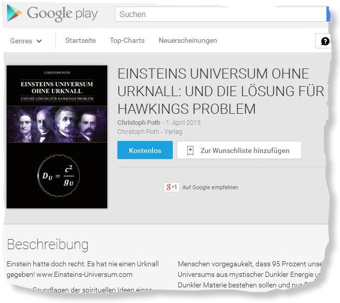 Christoph Poth, 2015: Gratis E-Book bei Google play