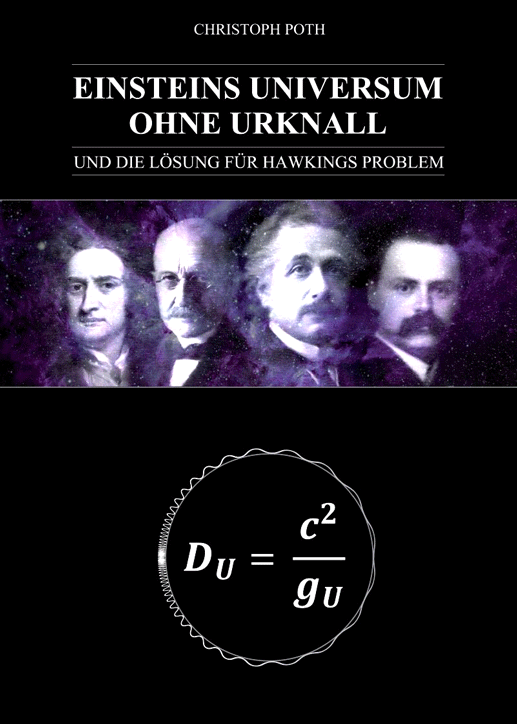 """Christoph Poth, 2015: """"Einsteins Universum ohne Urknall"""""""