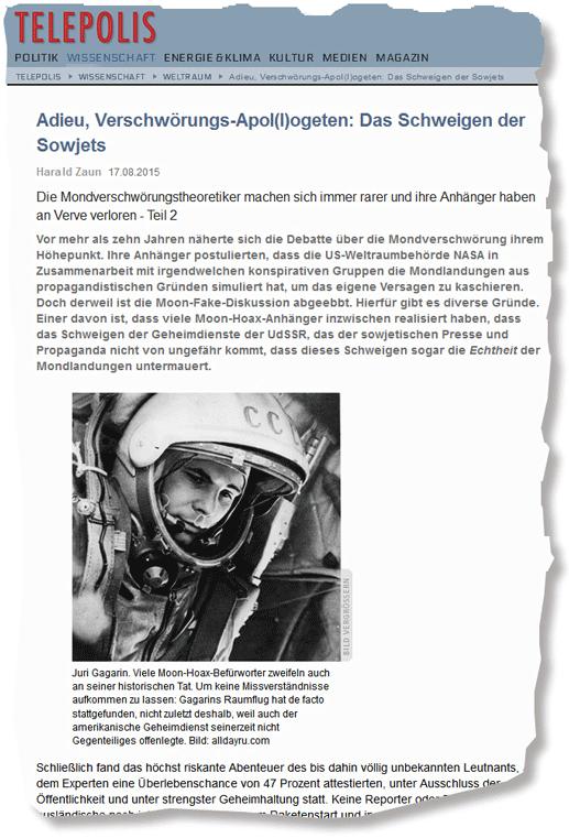 """Harald Zaun - """"Adieu, Verschwörungs-Apol(l)ogeten"""""""