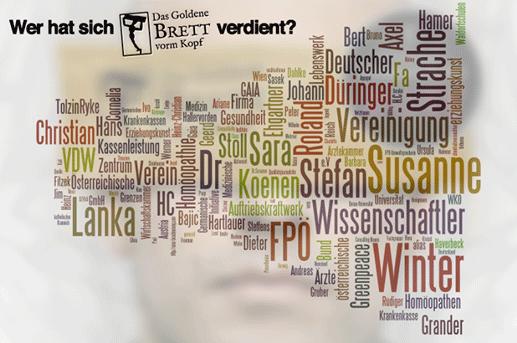 """Das """"Goldene Brett vorm Kopf"""" – Nominierungen 2015"""